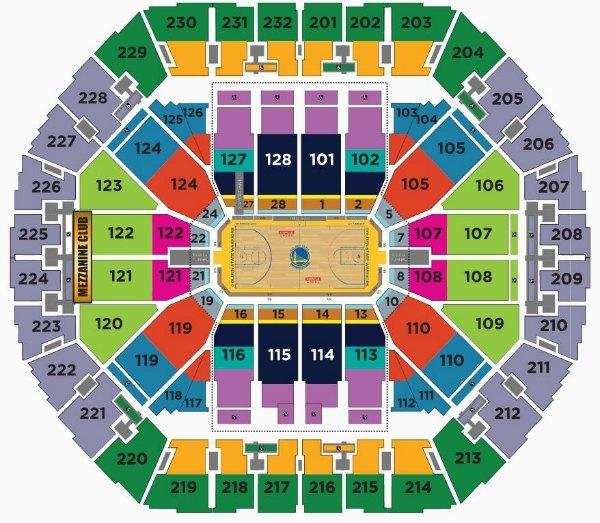 Golden State Warriors Tickets  Schedule 2019