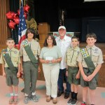 Boy Scouts, Troop 198,  Donation