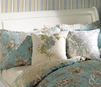 Luxury-Cotton-French-Duvet-Cover-Reversible-Toile-Bedding ...