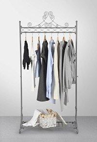 Vintage Coat Clothes Racks Hanging Clothing Rail Shabby ...