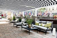 Retractable Patio Cover at Rockefeller Center | ShadeFX ...