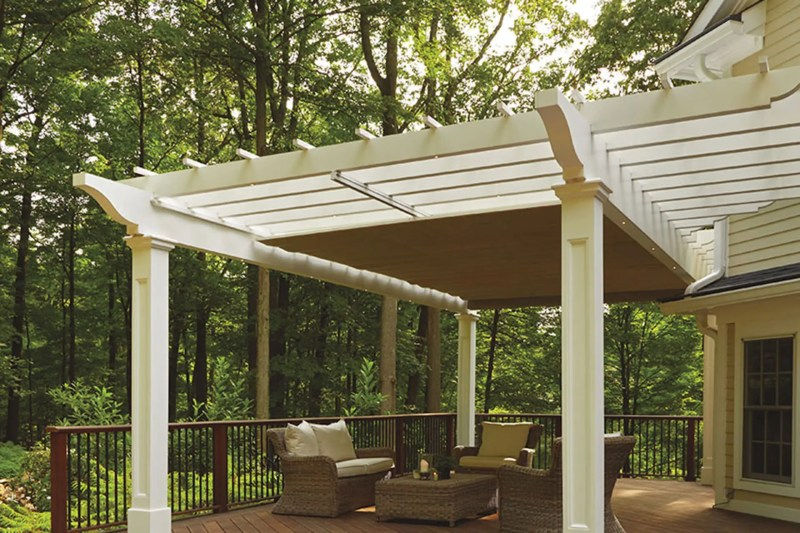 Large Of Pergola With Canopy