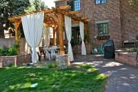 Curtain Call: The Guide to Pergola Curtains