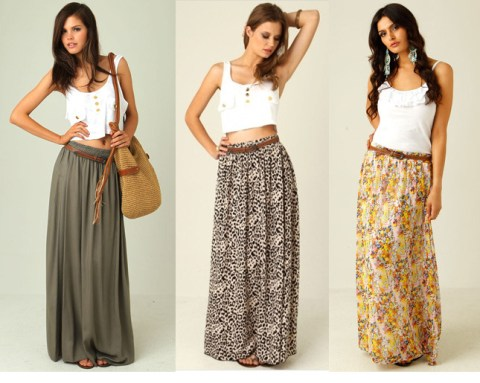 Maxiskirt Sewing Pattern Maxi Skirt