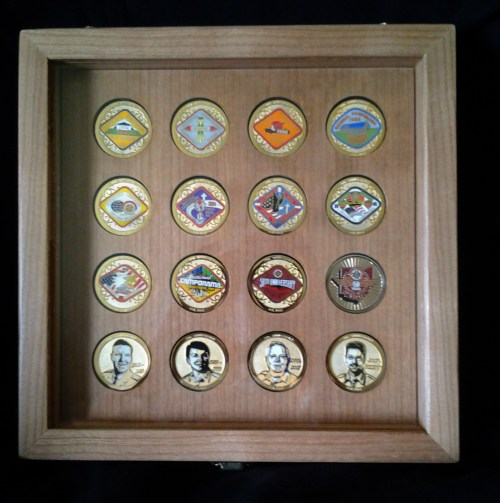 Medium Of Challenge Coin Display Case