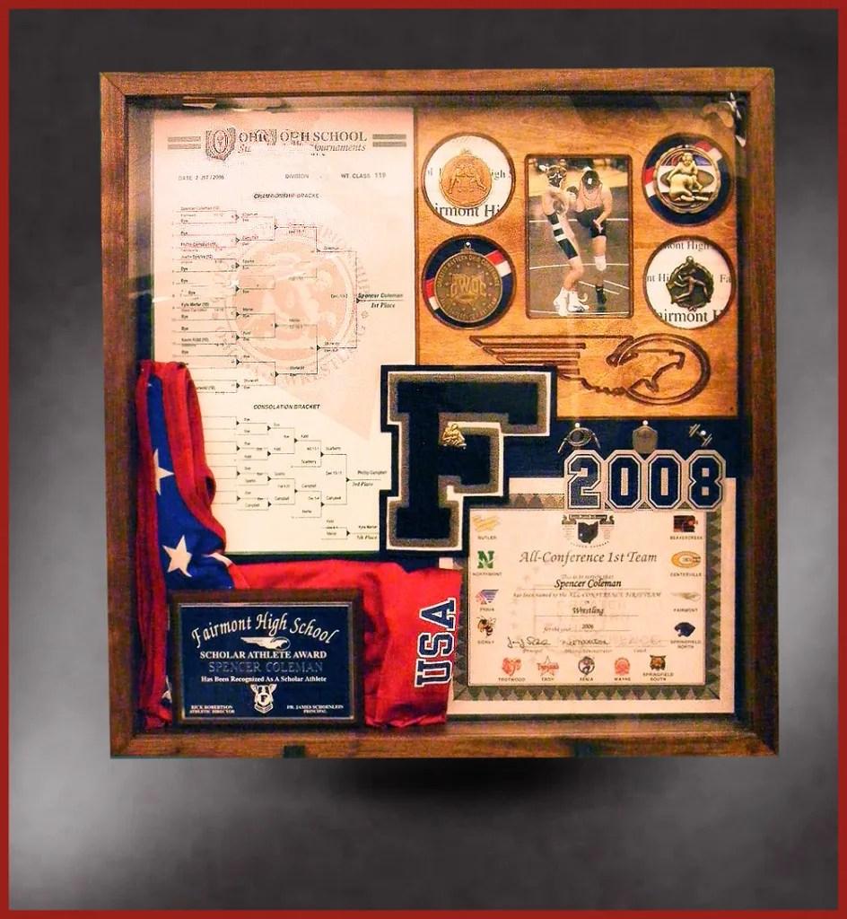 Wonderful Wrestling Shadow Box Sports Shadow Boxes Graduation Hood Shadow Box 2016 Graduation Shadow Box inspiration Graduation Shadow Box