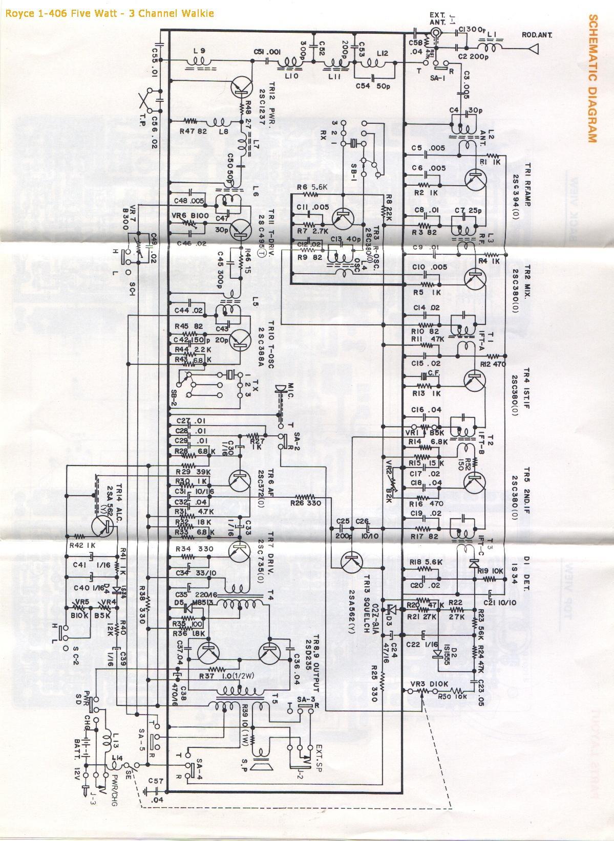 royce cb mic wiring diagrams
