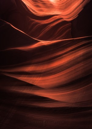 Slot Canyon Photo from Lower Antelope Canyon