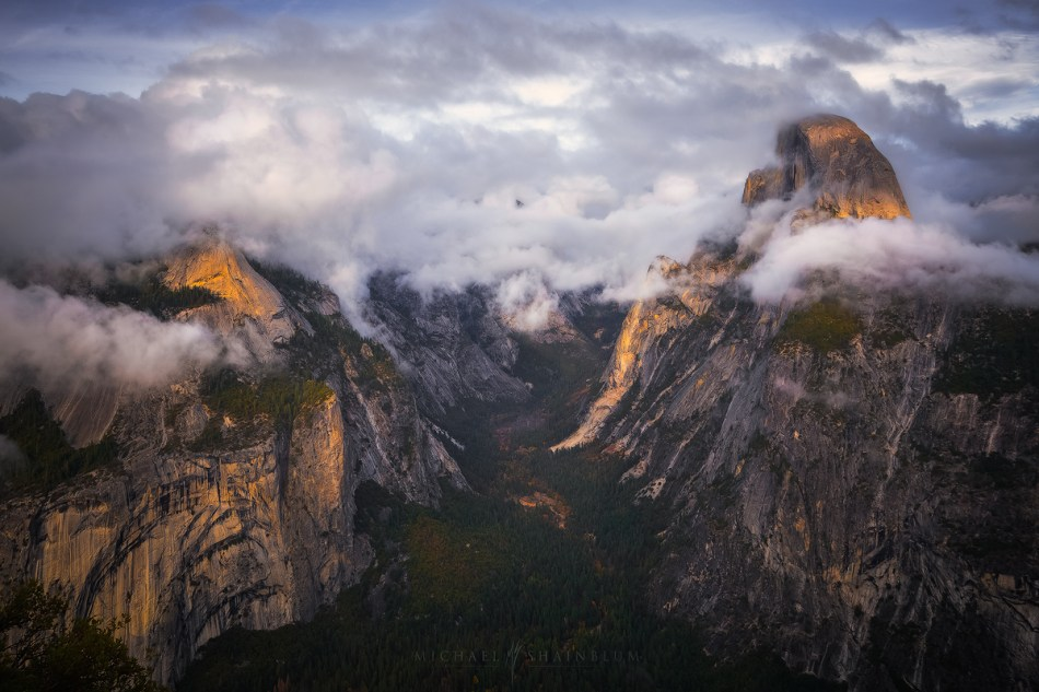 Yosemite Timelapse Glacier Point Storm Clouds Half Dome