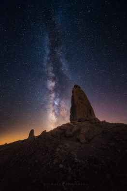 Trona Pinnacles California Milky Way Night Sky