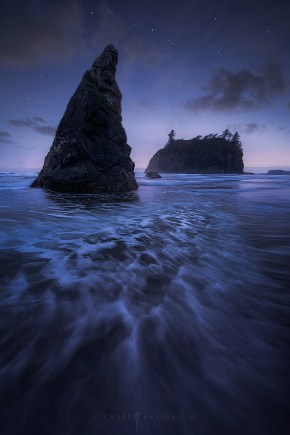 Ruby Beach in the Olympic Peninsula of Washington