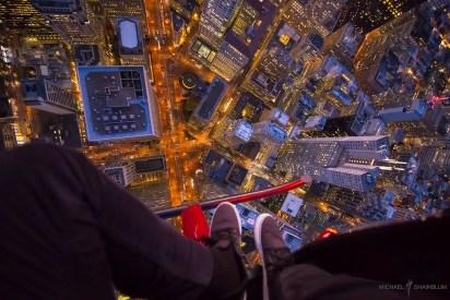 San Francisco City Aerial POV