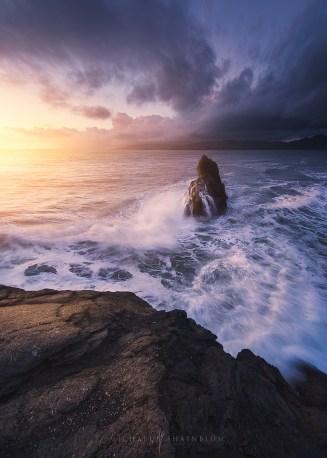 San Francisco Seascape Sunset