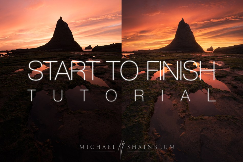 Landscape Photography Photoshop Tutorial
