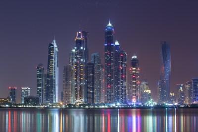 Cityscape Dubai: Dubai City Photography By Michael Shainblum