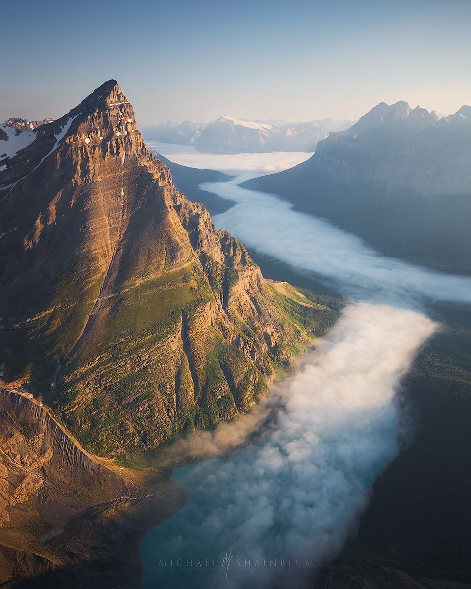 Early Fall Hd Wallpaper Banff National Park Canada Aerial Photography Amp Landscape