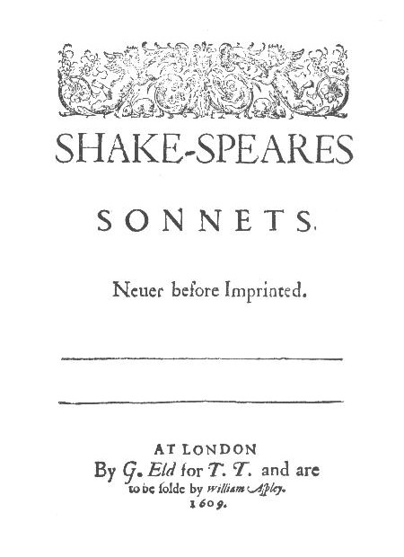Shakespeare\u0027s Sonnets