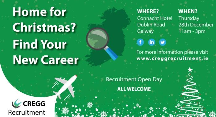 Home for Christmas? Find your New Career Shannon Chamber