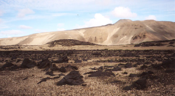 Lava and natural pumice- the greyish rocks were so lightweight that they felt like fake rocks from a movie set.