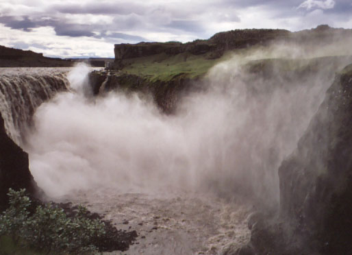 And Dettifoss itself