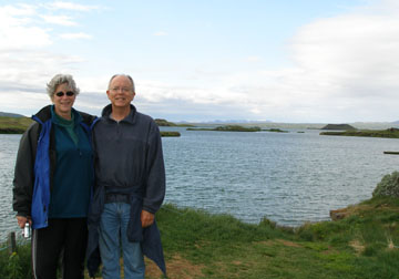 My mom and dad on a short little hike near Lake Mývatn. We were pretty fortunate with the weather, getting some gorgeous days so that they could see how amazing the landscape was, and some not-so-nice days for contrast.