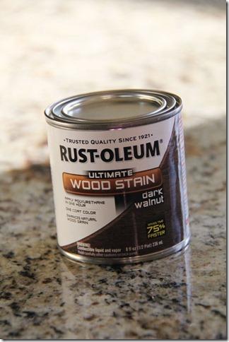 Rust-Oleum Dark Walnut