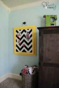 Magnetic Board DIY - Shanty 2 Chic