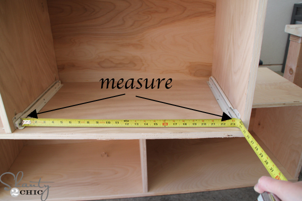 How To Install Drawer Slides Shanty 2 Chic
