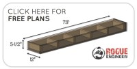 DIY Floating Shelf Plans for the Dining Room - Shanty 2 Chic