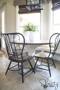 DIY Round Table | Wood Designs