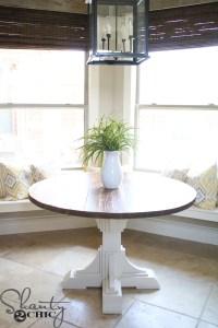 DIY Round Table - Shanty 2 Chic