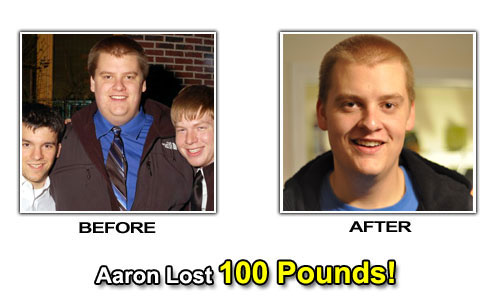 Weight Loss Stories - Aaron Lost 100 Pounds in 6 Months