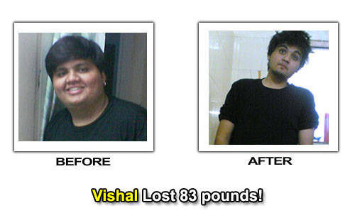 Weight Loss Stories - Vishal Lost 83 Pounds in 13 Months