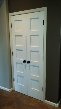 Replacement of twenty interior doors with new Shaker style