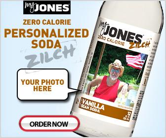 Jones Soda Personalized Zilch