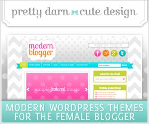 Pretty Darn Cute - Modern WordPress Themes for the Feminine Blogger