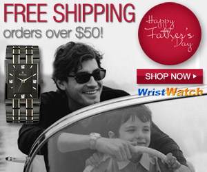 Say Happy Father's Day with a Gift from WristWatch! Shop Today!