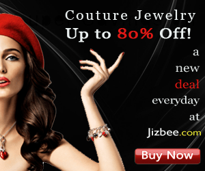 Save 80% on Jewelry Daily at Jizbee.com