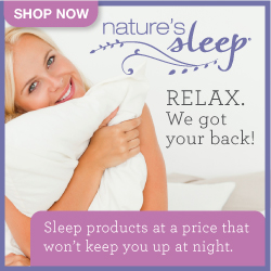 NS 250x250 Banner1 Natures Sleep Slipper Review/Giveaway!  (#FreeProductReceived)
