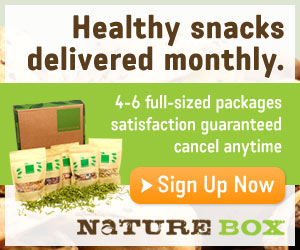 NatureBox Sign Up