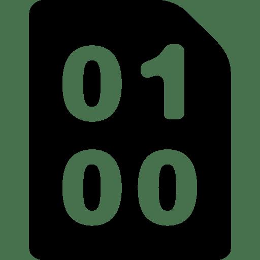 3d Grid Wallpaper Interface And Web Symbol Binary Zeros Ones Binary Code
