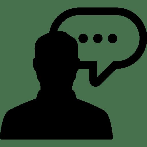 God Hand 3d Wallpaper Speak Man Speech Bubble Message Talk People Chat