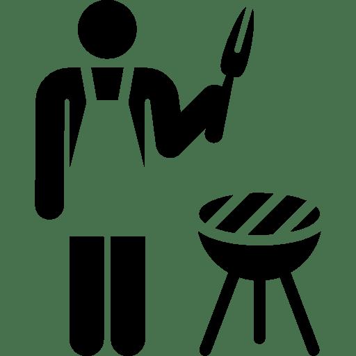 3d Wallpaper For Kitchen Cookers Restaurant Summertime Stick Man Kitchen Chef