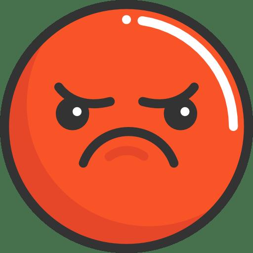 3d Smiley Wallpaper Emoji Feelings Smileys Angry Emoticons Icon