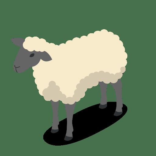 Cow Wallpaper Cute Farm Rural Animal Sheep Animals Icon