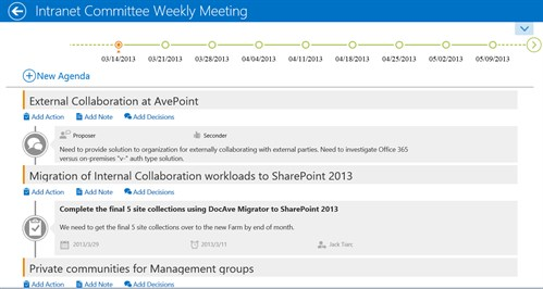 Introducing Meetings for Microsoft SharePoint 2013 - European