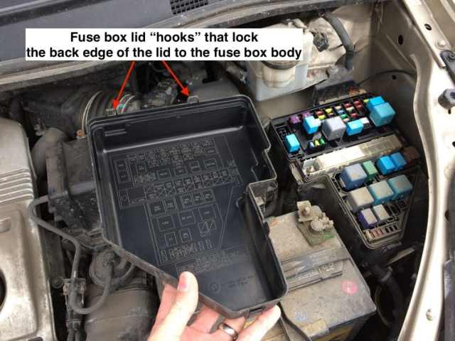 Car Fuse Box Dome : How to replace amp dome light fuse on  toyota