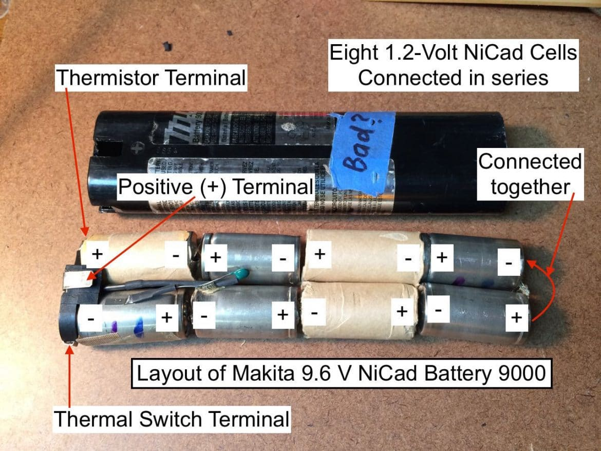 how to build 9.6v battery