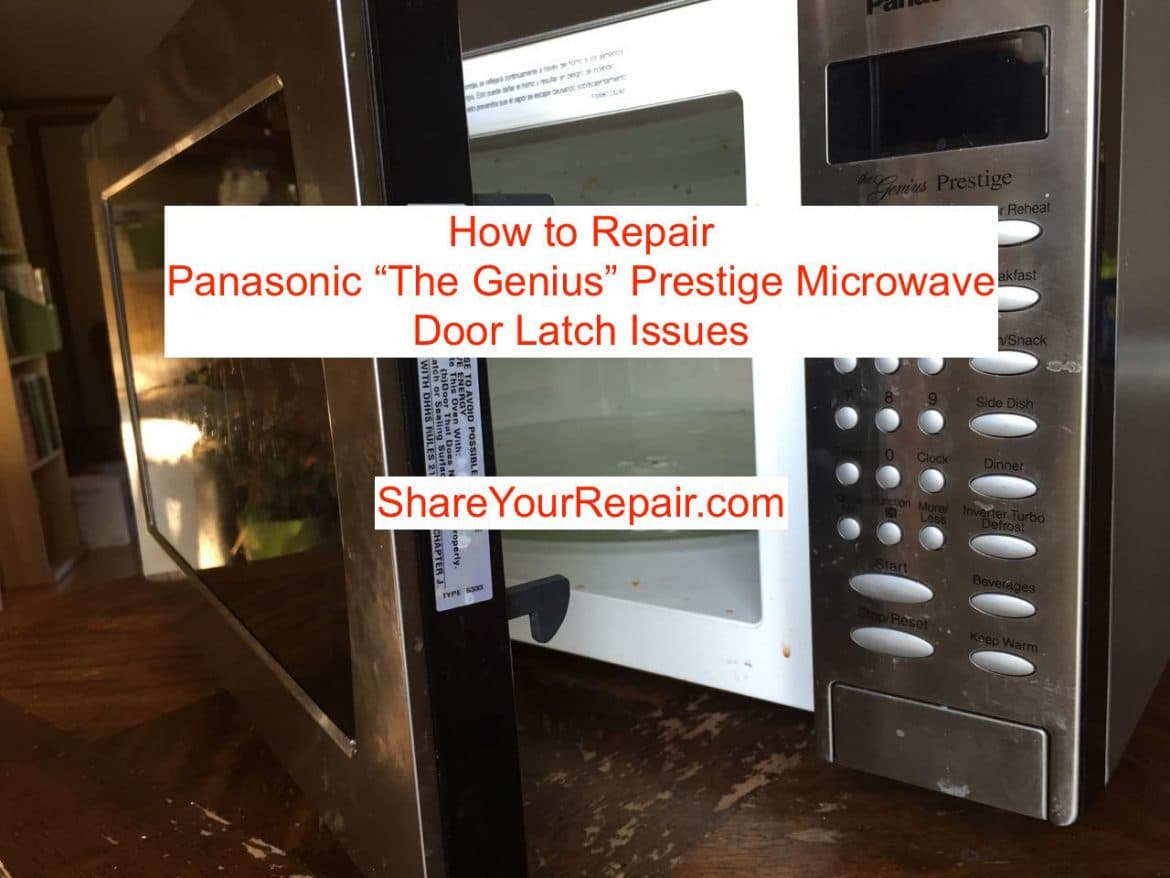 Images Of Panasonic Microwave Repair Door Latch