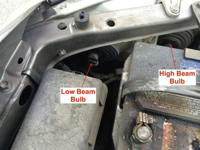 How To Replace Headlight Bulb On Toyota Camry 2001